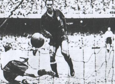 Gol de Zarra a Inglaterra en el mundial de 1950, Río de Janeiro